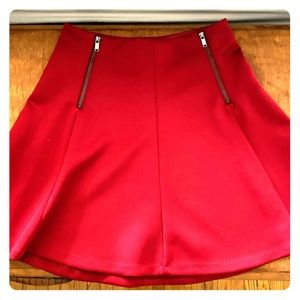 Dynamite Trumpet Skirt - Red - Size Small
